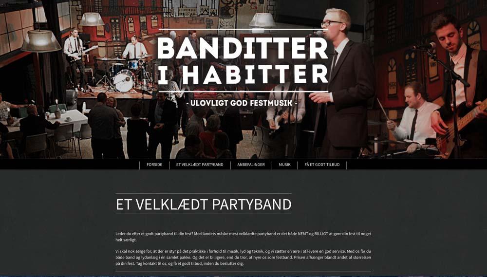 Partybandet Banditter i Habitter