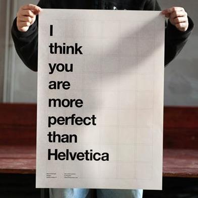 Det største kompliment du kan få fra en grafisk designer...