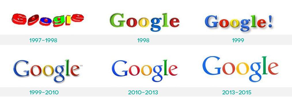 Google logoer