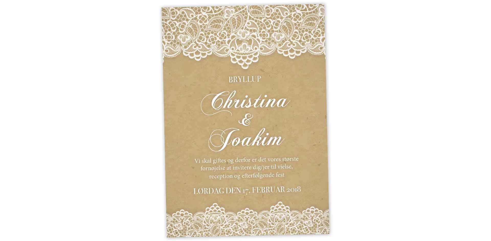 Christina og Joakim